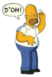 Homer Simpson - Doh!