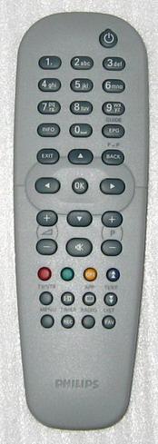 Fjernbetjeningen til Philips DTR 200 Digitalboks