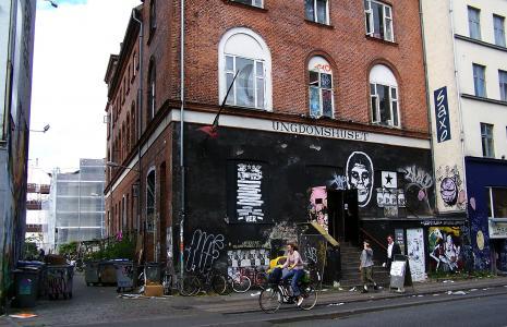 Ungdomshuset, Jagtvej 69, Nørrebro
