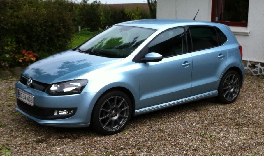 Højmoderne 2010 VW Polo BlueMotion 1.2 TDI *Nye VW Motorsport fælge JR-23